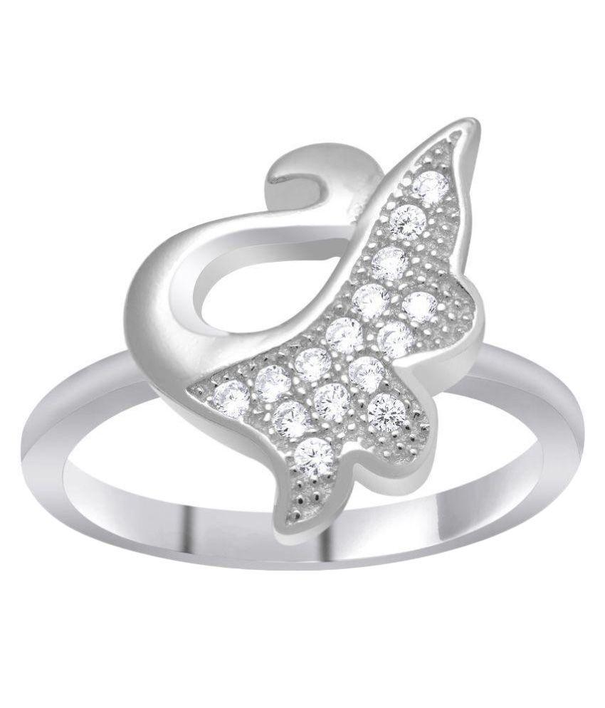 Shiyara Jewells 92.5 Sterling Silver Ring