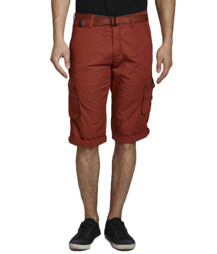 Beevee Brown Shorts
