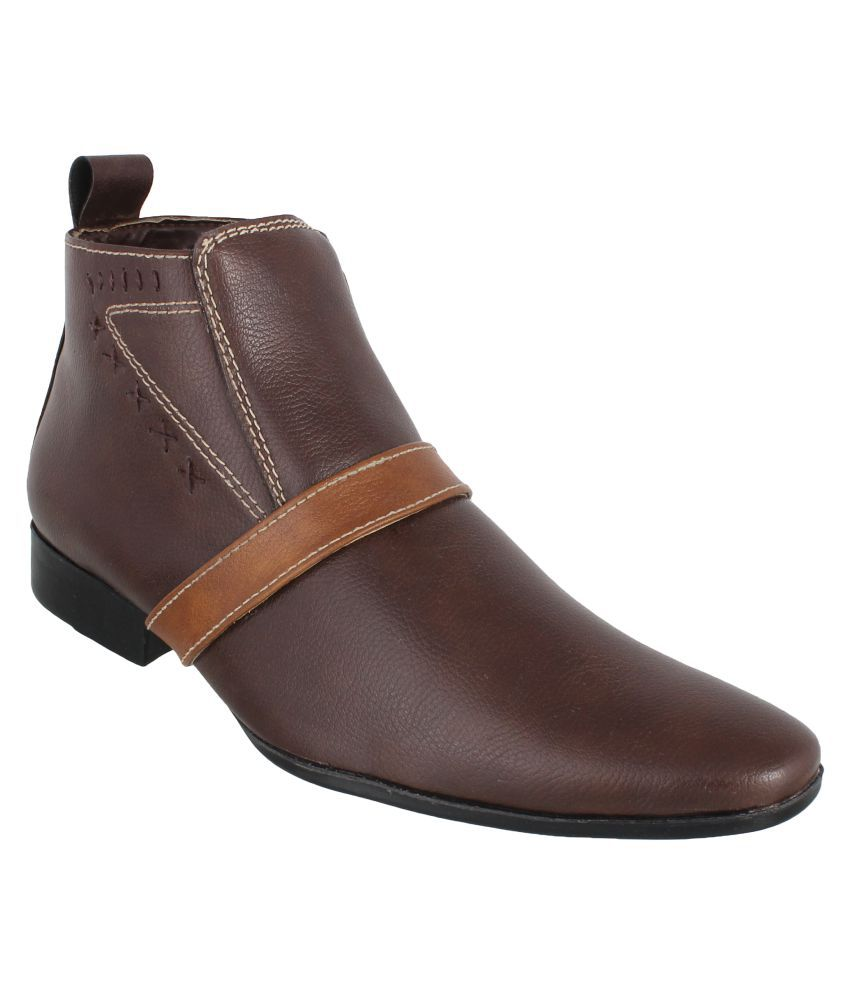 Peter John Leather's Brown Chelsea boot