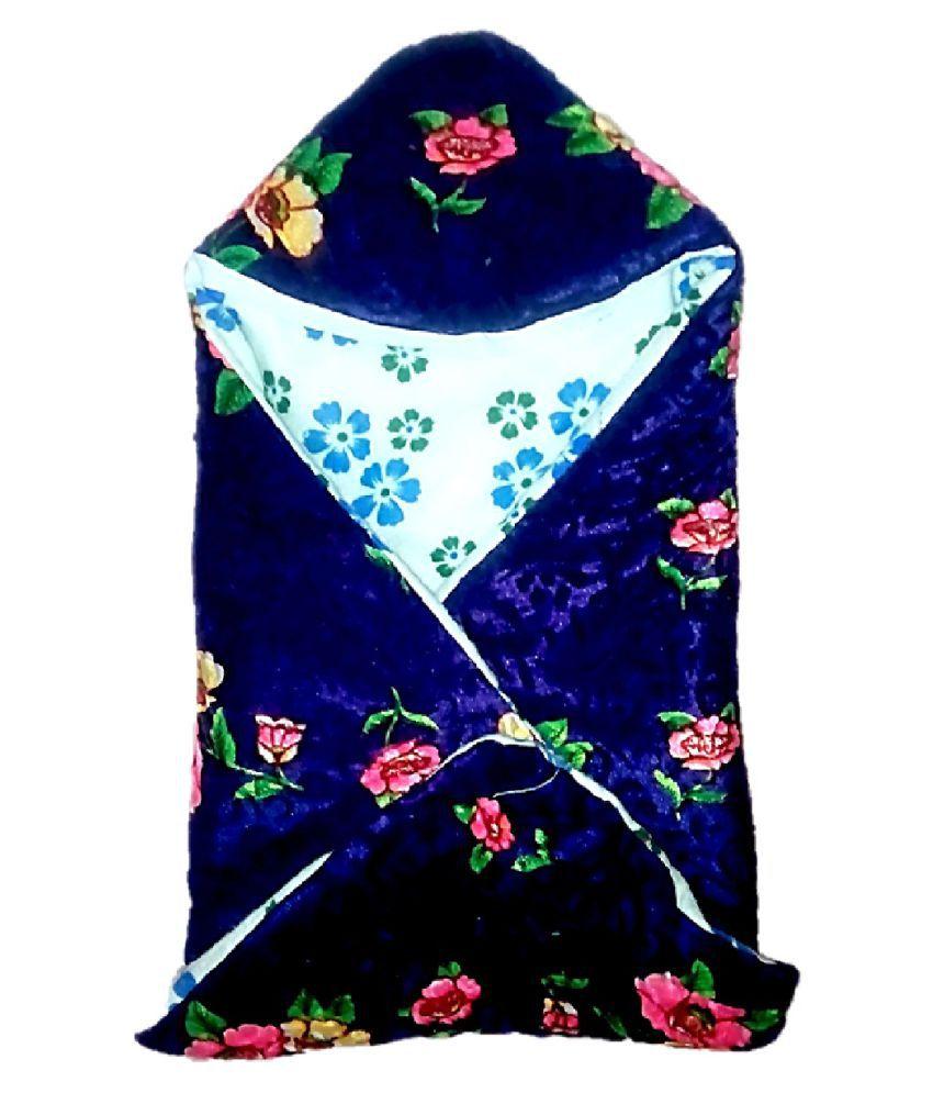 Light Gear Blue Polyester Babywrap