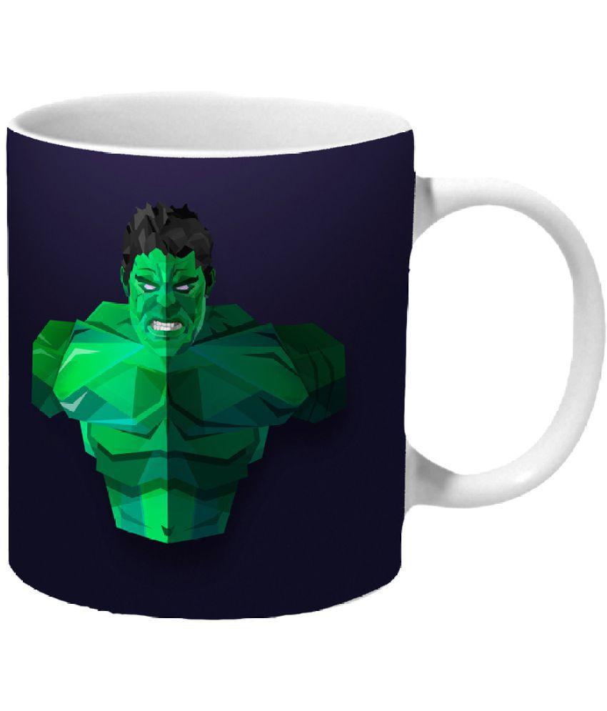 Mooch Wale Ceramic Coffee Mug 1 Pcs 325 ml