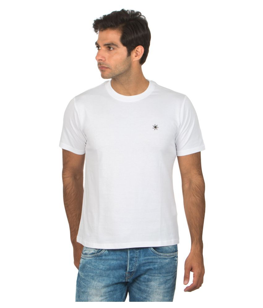 Zeven White Cotton T-Shirt Single Pack