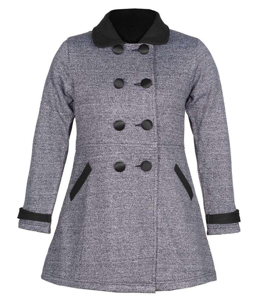 Naughty Ninos Grey Cotton Blend Jackets