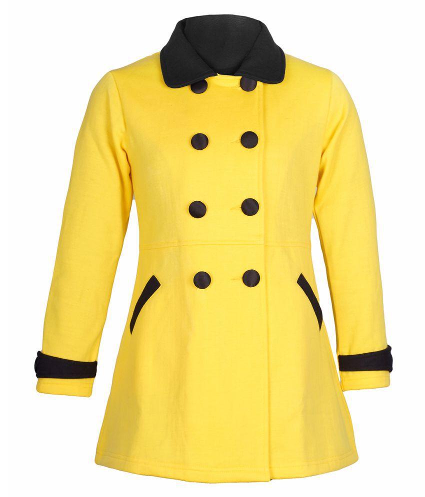Naughty Ninos Yellow Cotton Blend Jackets