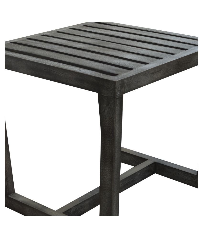 Inliving Lina Solid Wood End Table