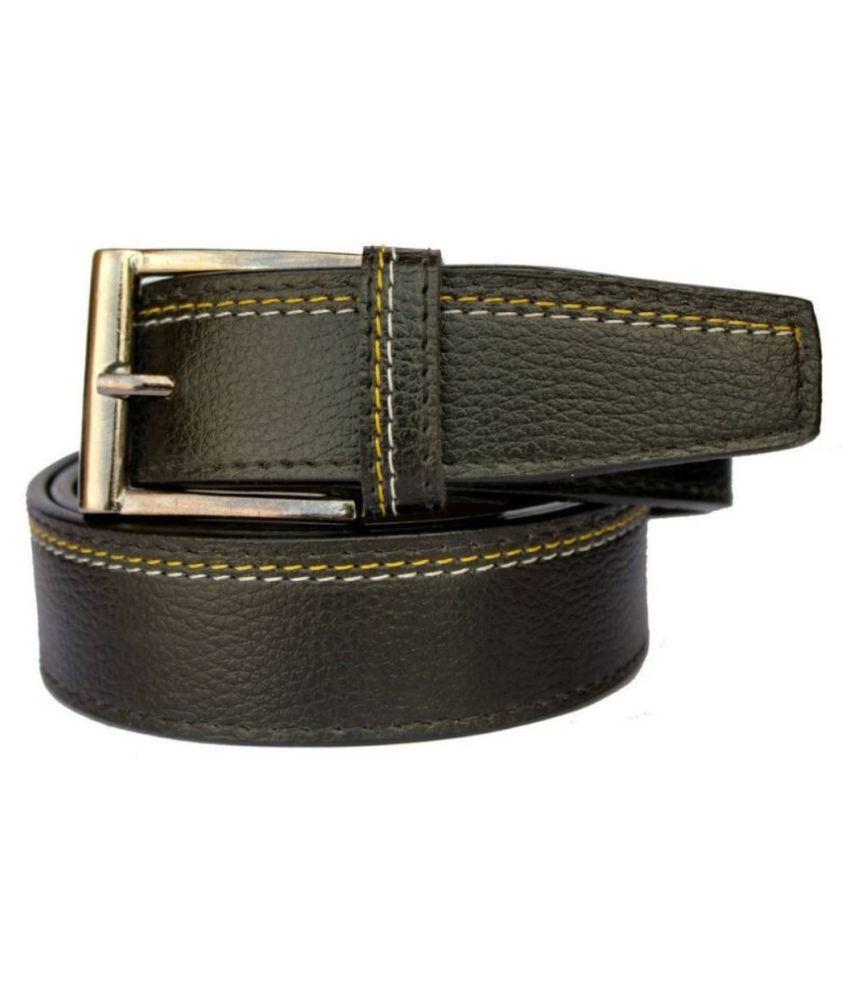 Pro-fit Black Leather Formal Belts
