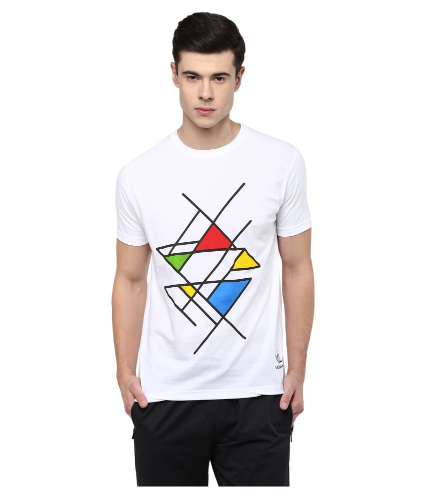 Wilderoo White Round T-Shirt