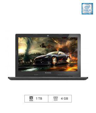 Lenovo G50 80 Notebook  80E502Q3IH   5th Generation Intel Core i3  4 GB RAM  1TB HDD  39.62 cm  15.6   DOS  2 GB Graphics   Black