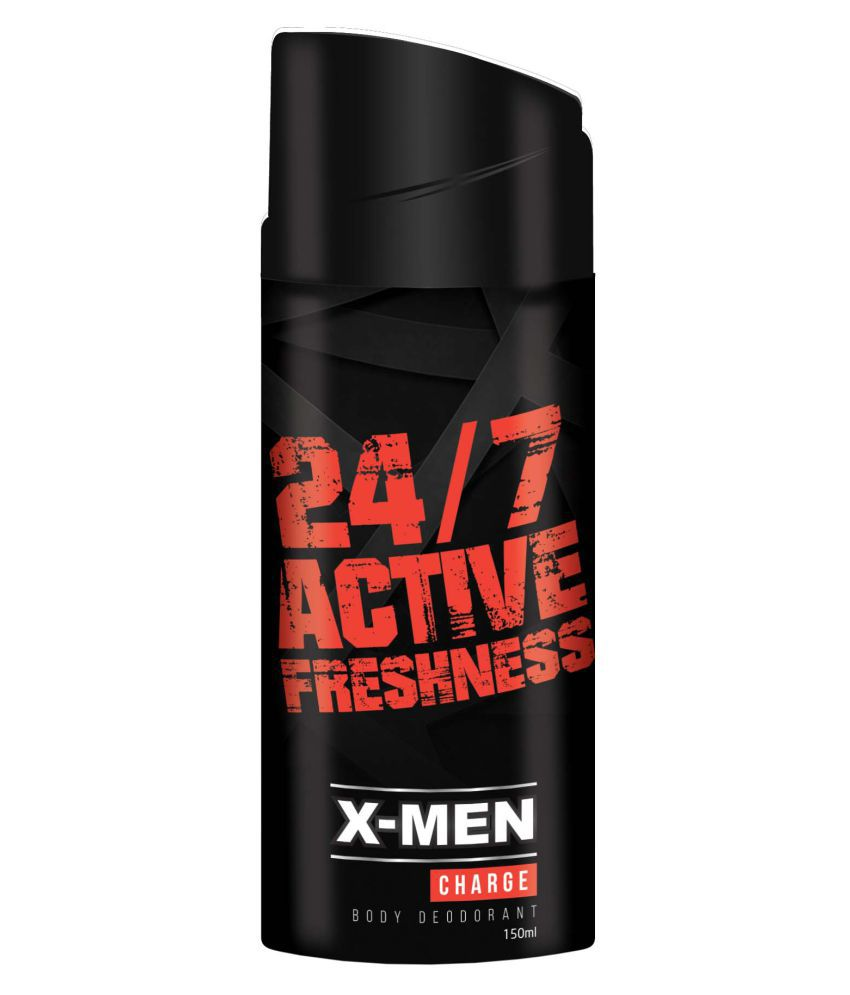 02ba3d12796 X-men Charge Body Deodorant Spray 150 ml  Buy Online at Best Prices in India  - Snapdeal