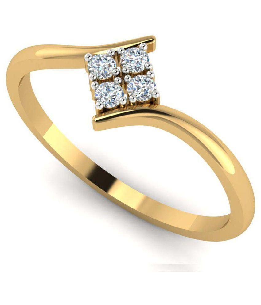 Astrum Diamonds 18k Yellow Gold Ring