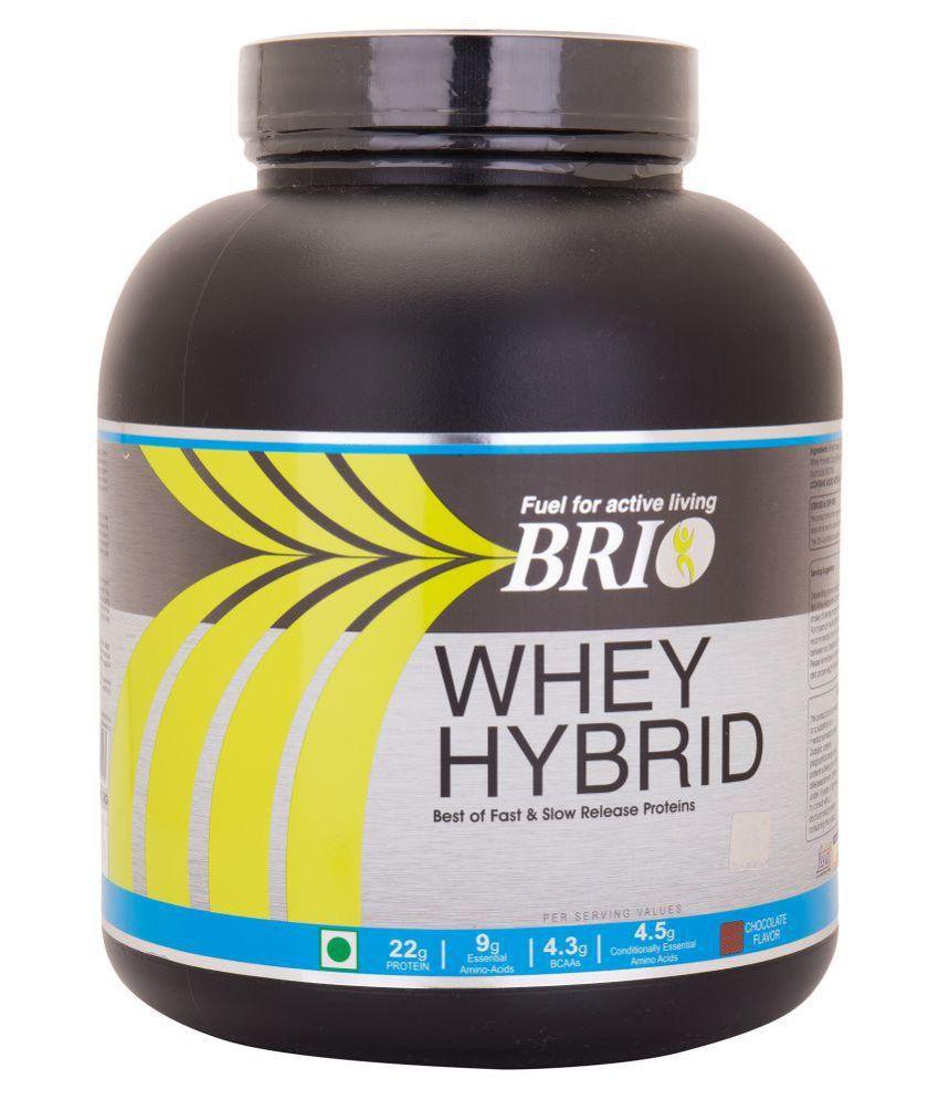 Brio Nutrition Whey Hydrid Protein - 2kg chocolate