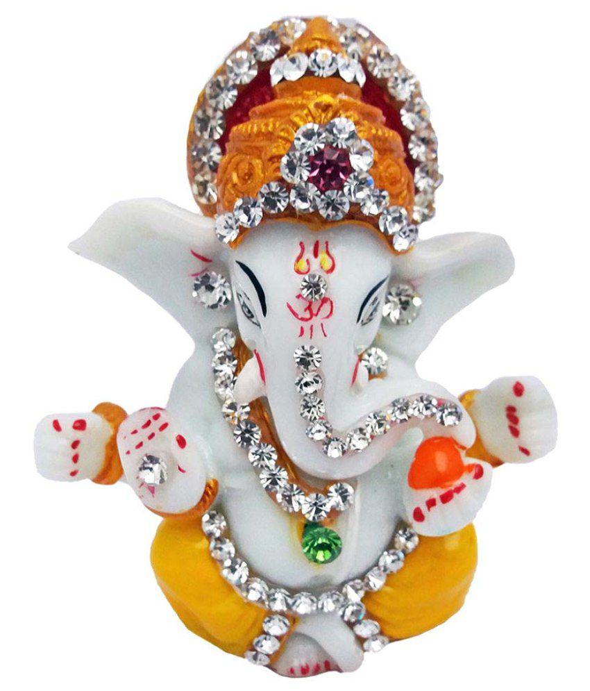 Art N Hub Ganesha Polyresin Idol
