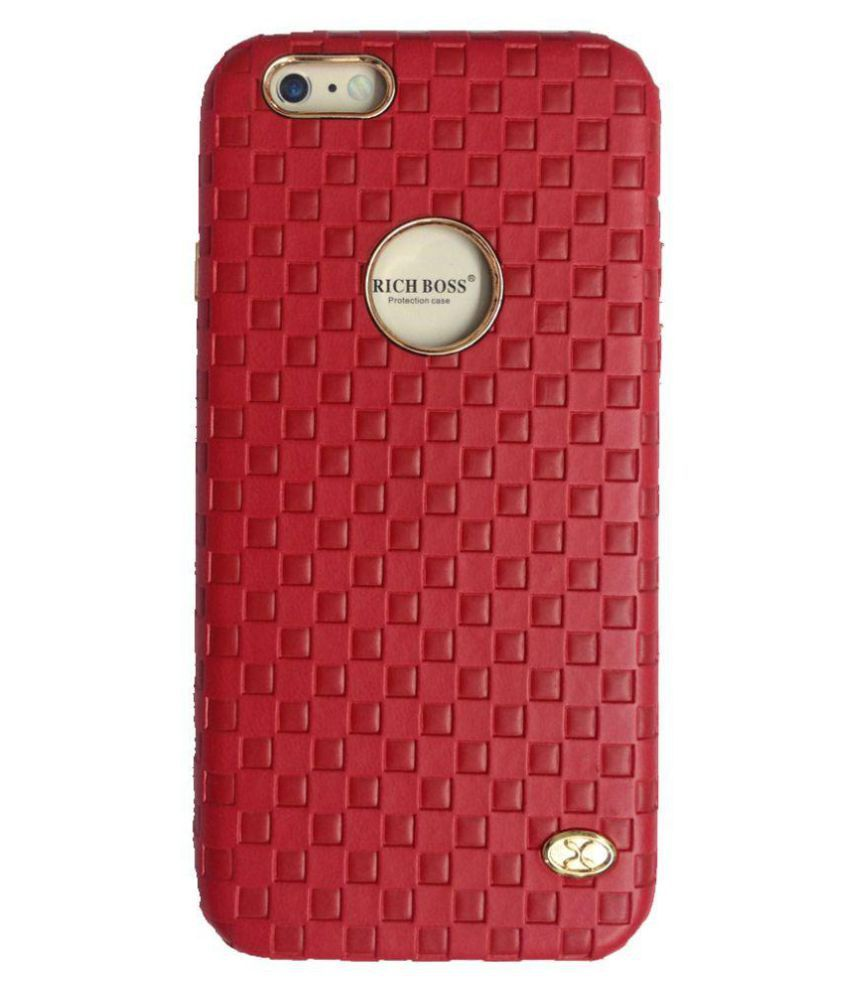 Apple iPhone 6S Cover by Ortel - Red