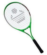 Cosco Extra Stiff Aluminium Tennis Racquet MultiColour
