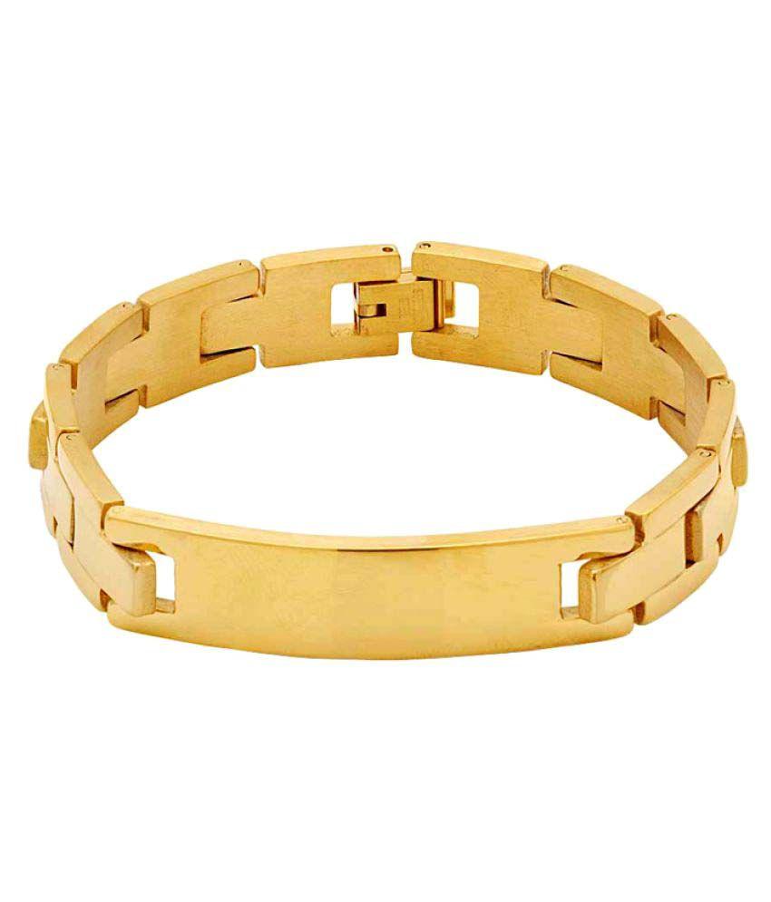 Voylla Gold Bracelet