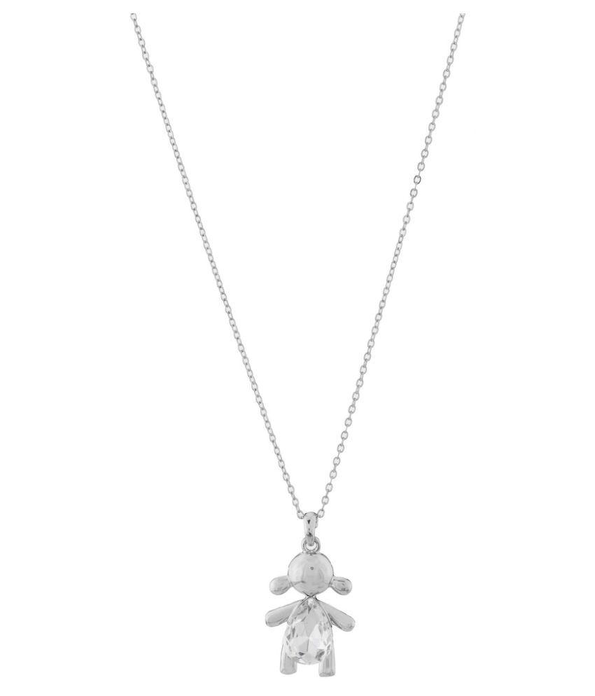 Jazz Jewellery Silver Necklace