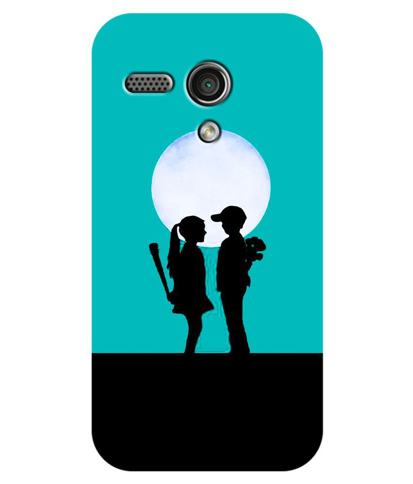 Moto G Printed Cover By SWAGMYCASE