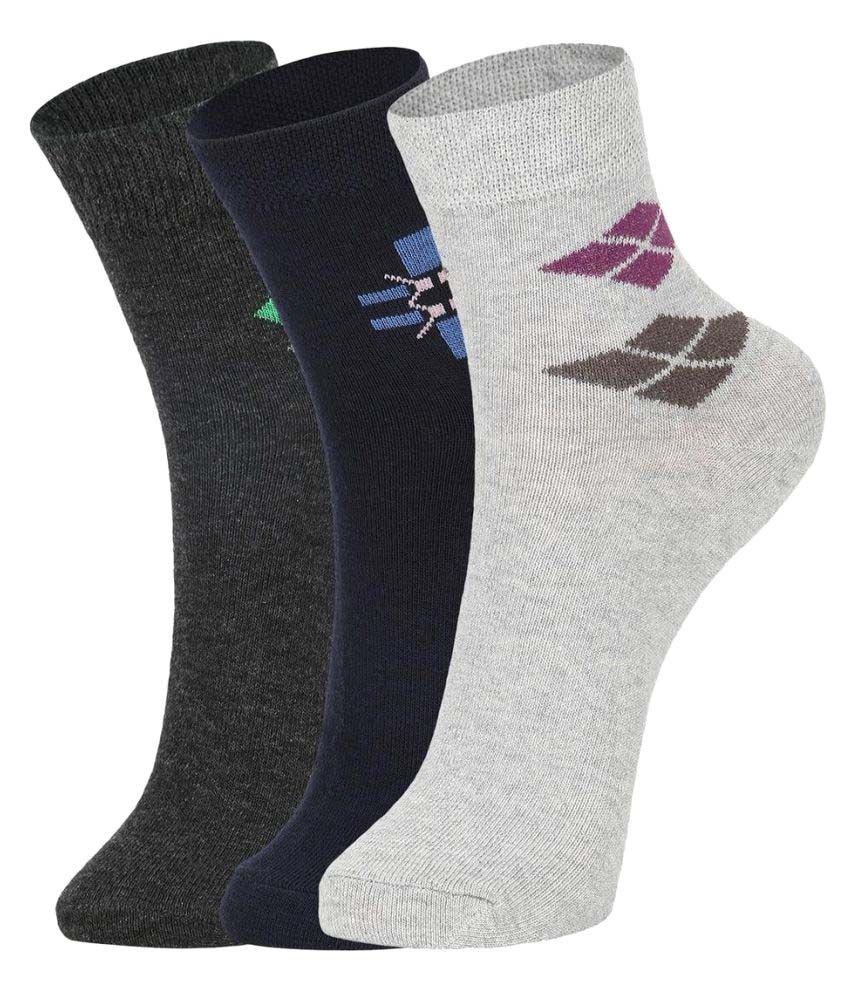 DUKK Multi Casual Ankle Length Socks