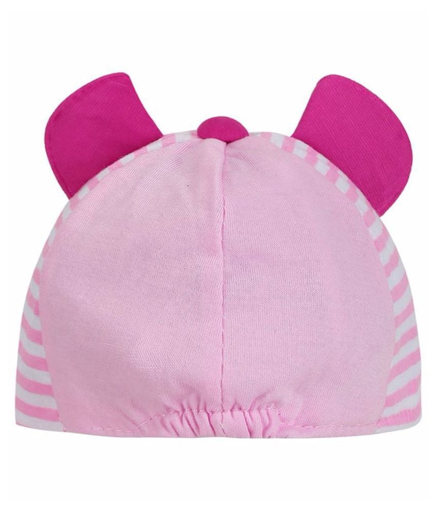876c0a21a69 Littly Designer Baby Cap (Pink)  Buy Online at Low Price in India ...
