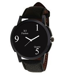 X5 Fusion Royal Men's Watch With Pure Leather Strap
