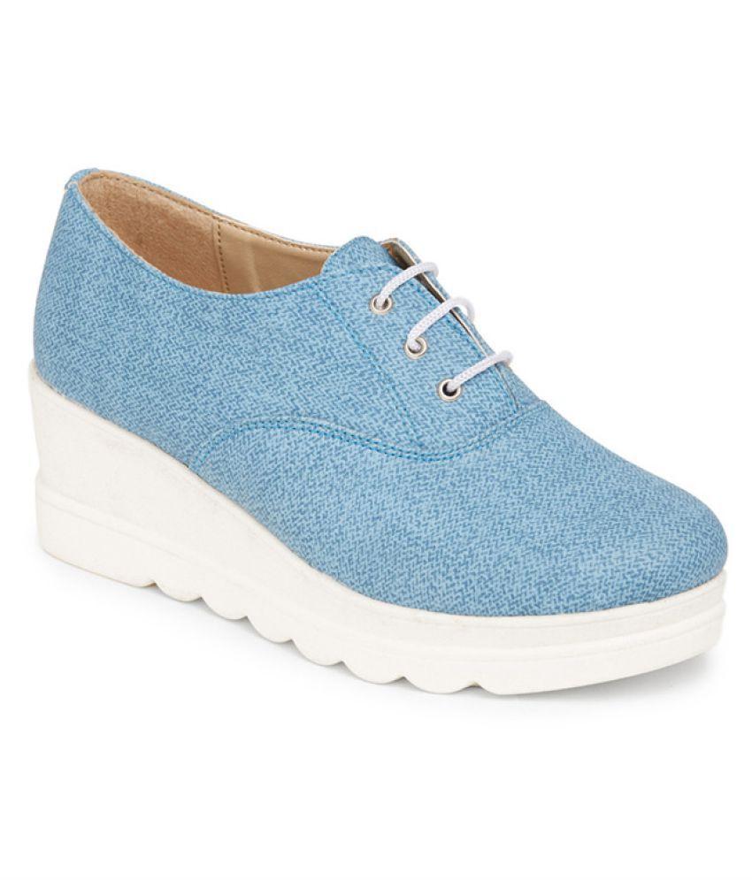 Marc Loire Blue Sneakers