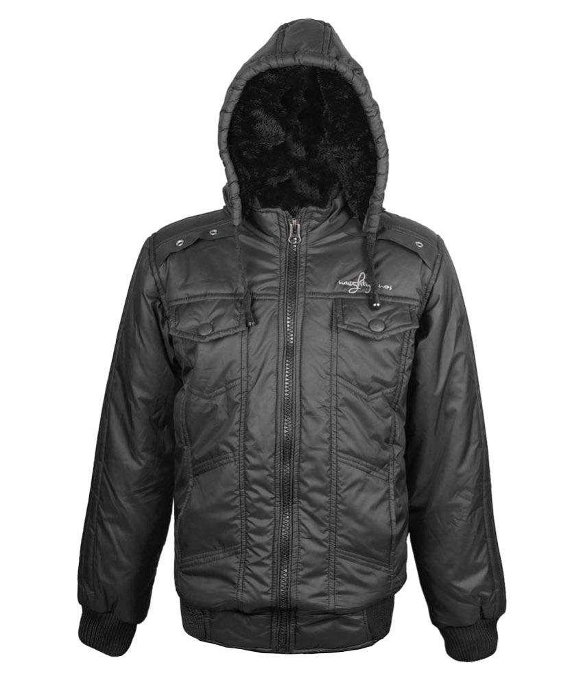 Naughty Ninos Girls Black polyfilled Jacket