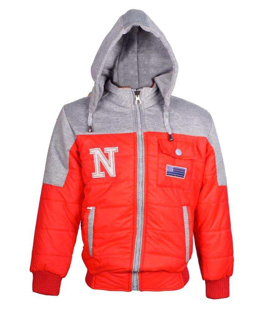 Naughty Ninos Girls Red Reversible Jacket