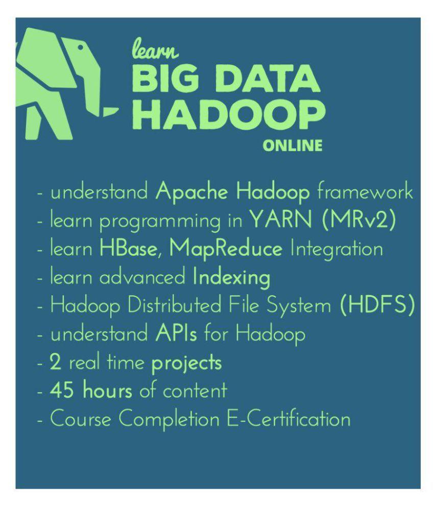 Digi Pathshala Learn Big Data Hadoop And Mapreduce E Certification