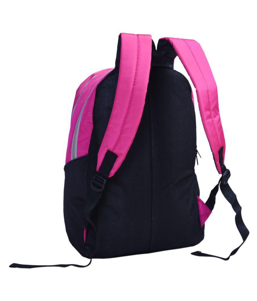 7f459adae4e5a Sara Pink School Bag - Buy Sara Pink School Bag Online at Low Price ...