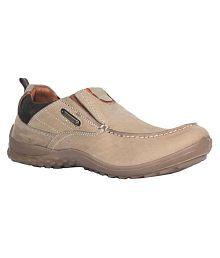 Woodland Woodland Lifestyle Beige Casual Shoes
