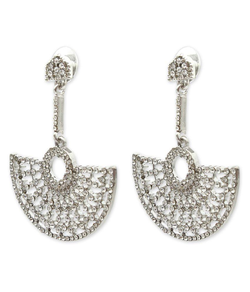 Globus Silver Chandelier Earrings