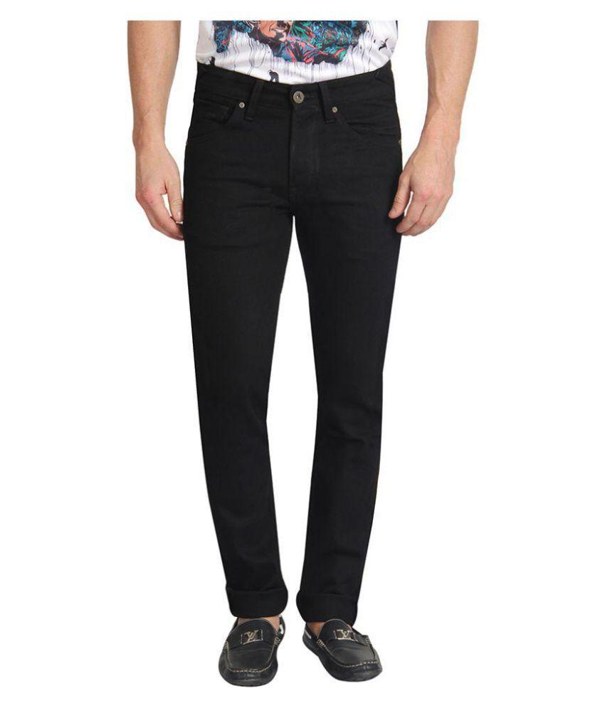 Pepe Jeans Black Skinny Solid