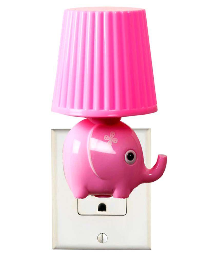 Night lamps india - Tayhaa Night Lamps Pink