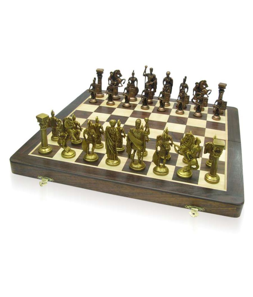 Trendy Ile Brown Chess Set