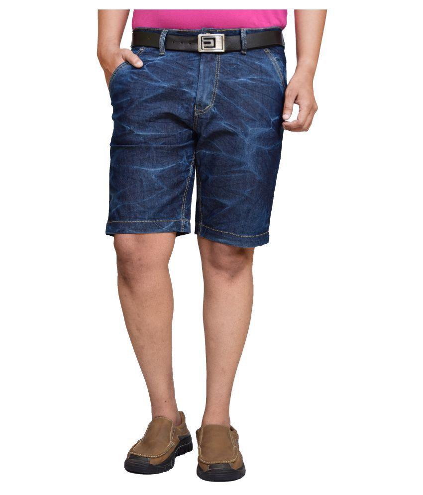American Noti Blue Shorts