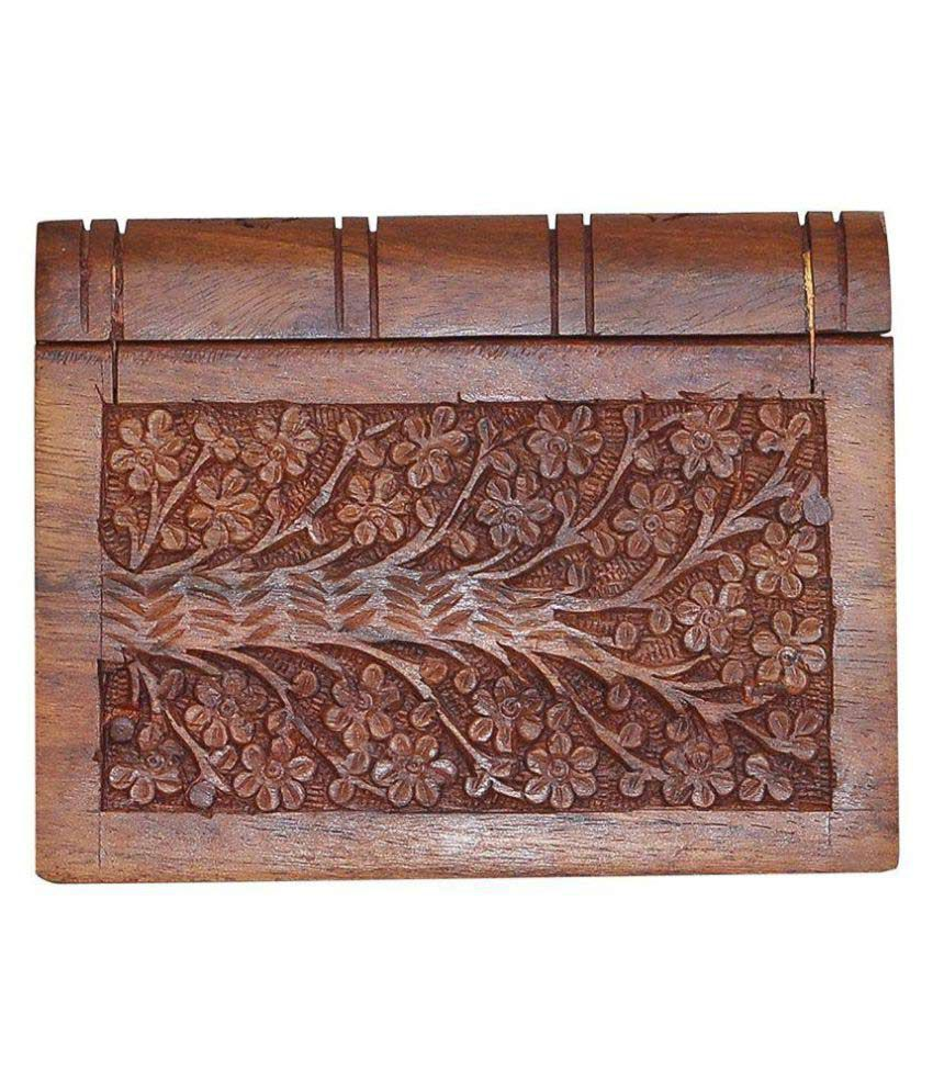 Dungri Craft Wooden Jewelry Storage Box