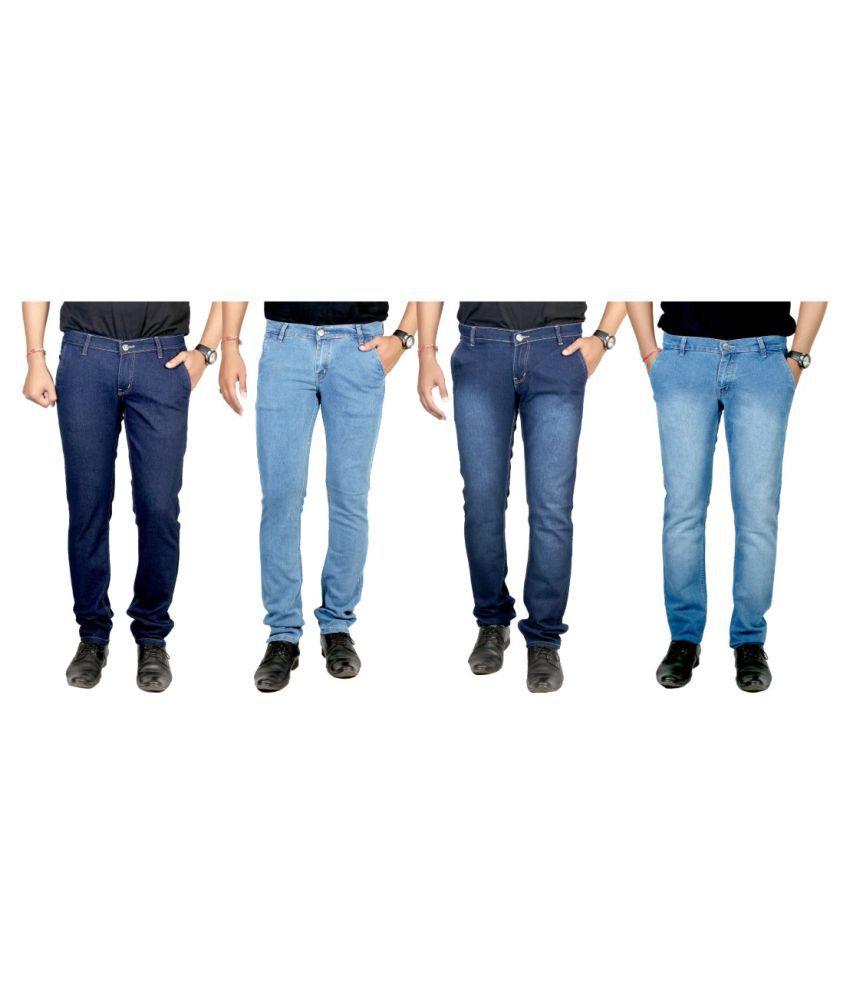 Atlast Blue Slim Solid