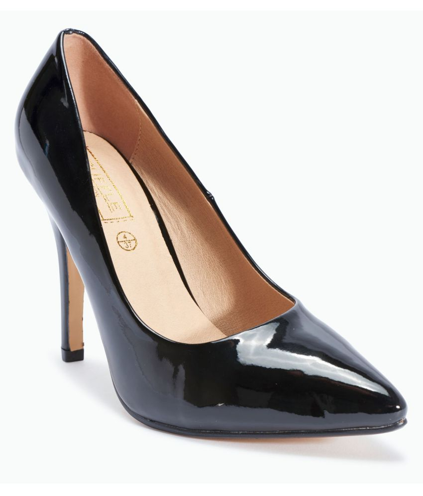Truffle Collection Black Stiletto Heels
