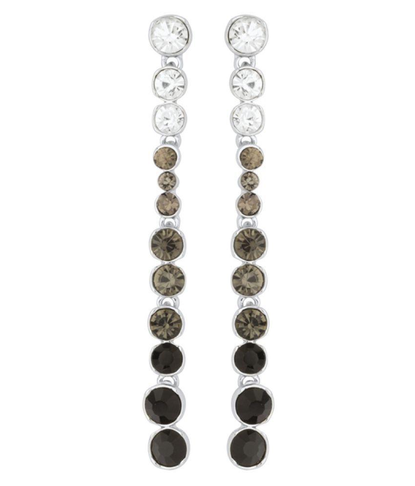 Voylla Silver Hanging Earrings