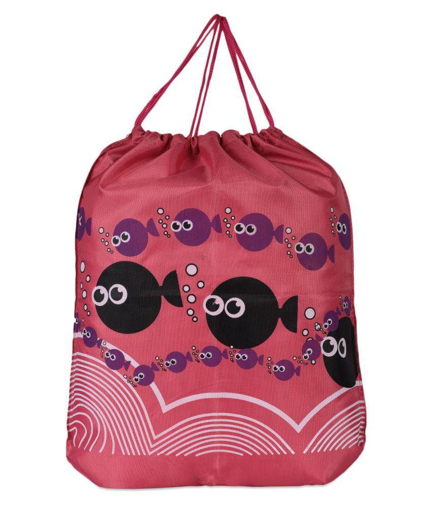 Loverlobby Pink Gym Bag