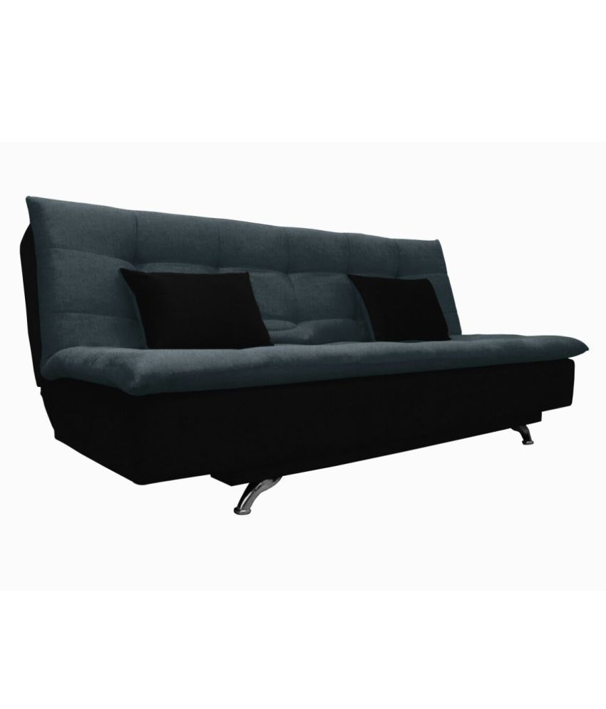 Adorn India Aspen Fabric Sofa Cum Bed/folding Bed
