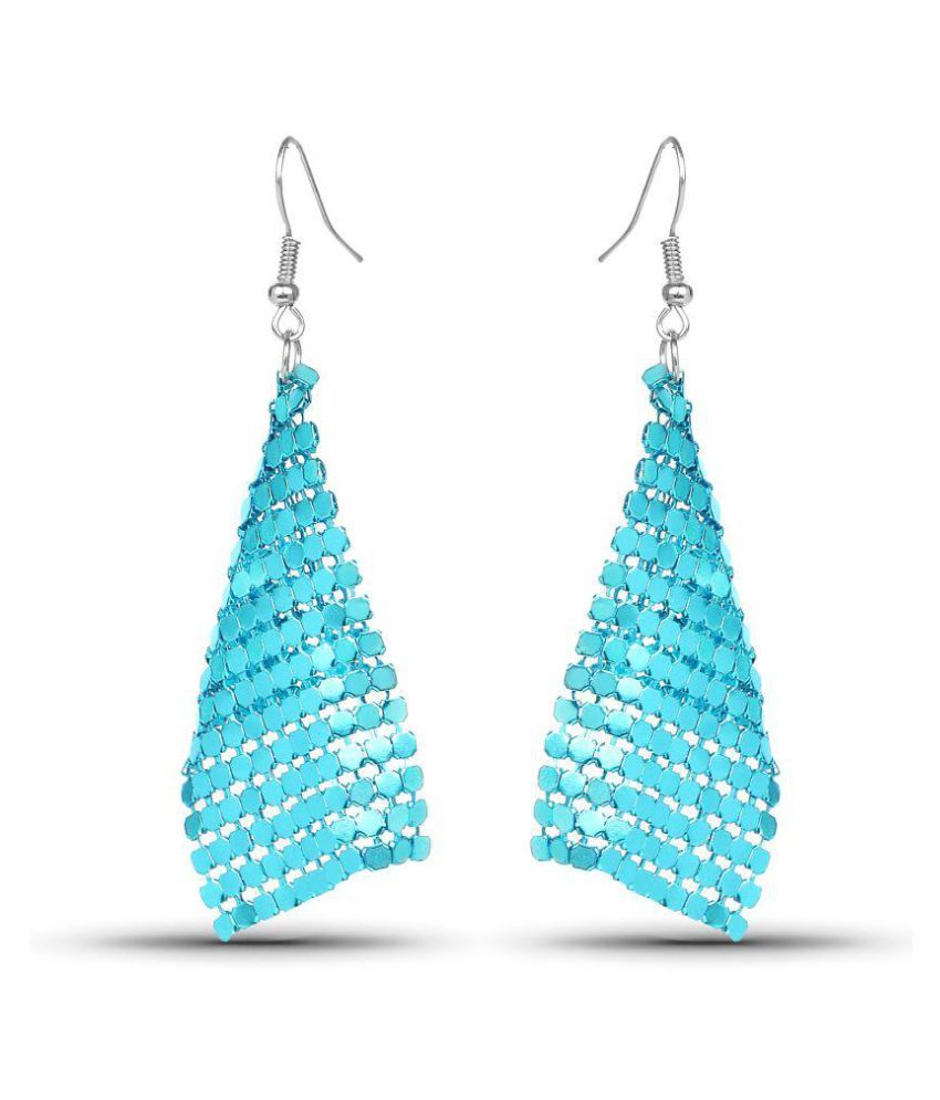 Johareez Turquoise Hanging Earrings