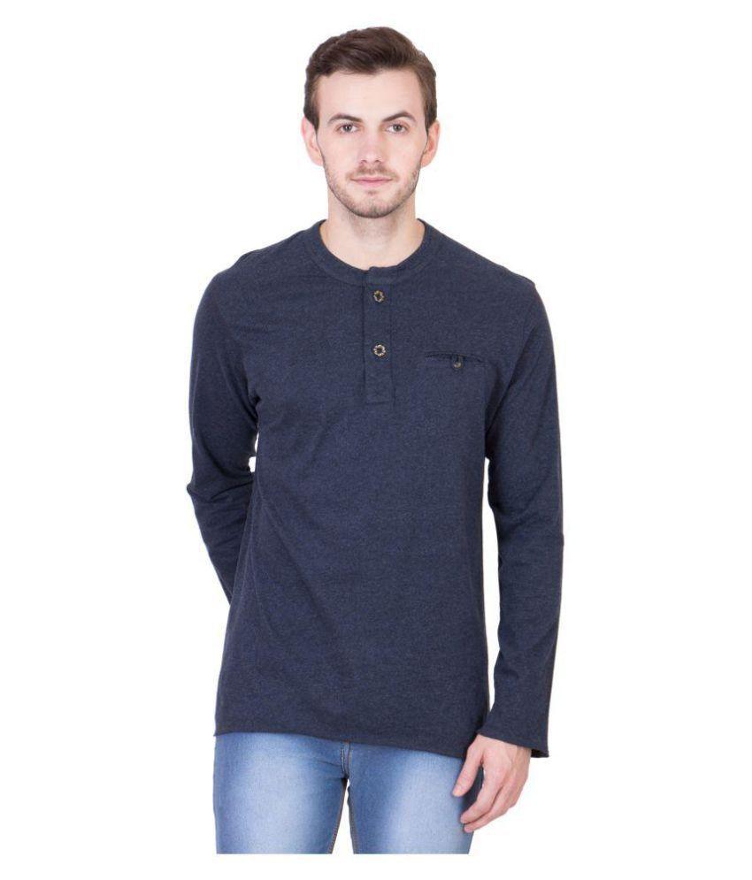 Cliths Blue Henley T-Shirt