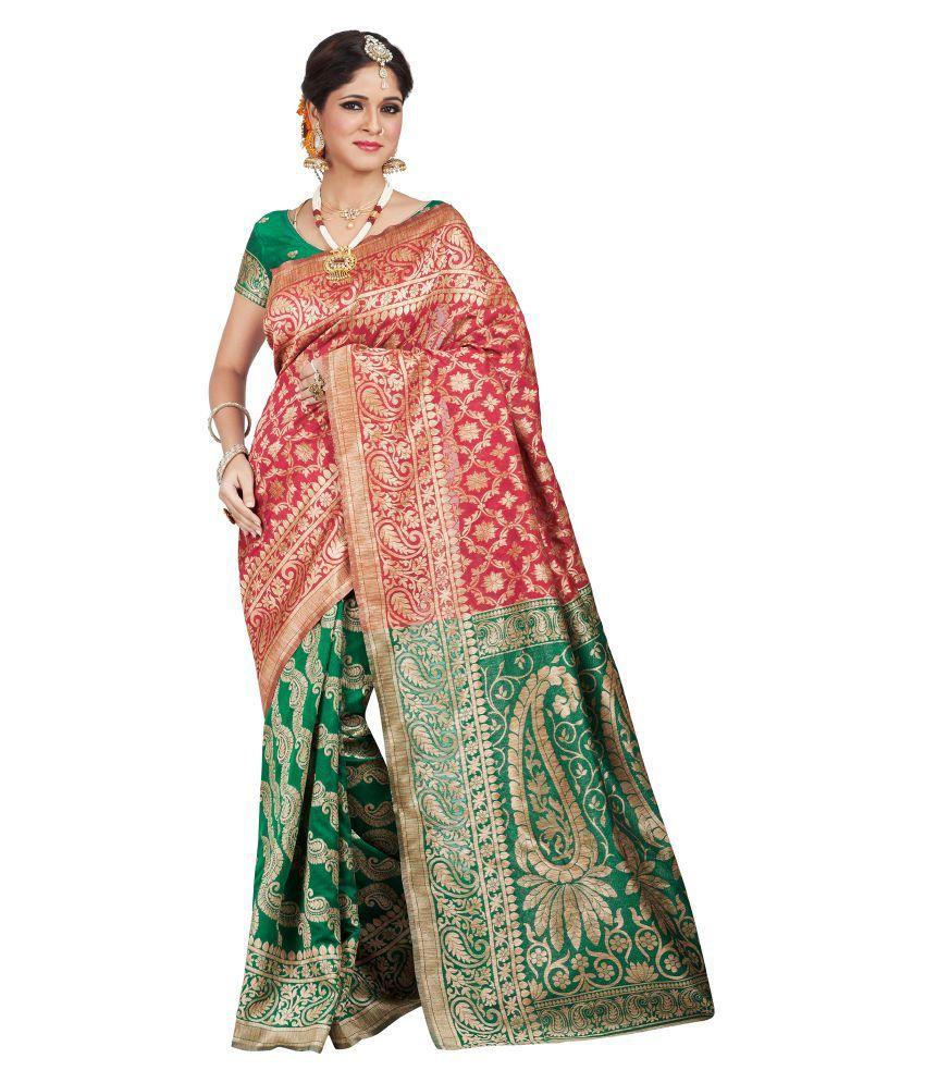 Shonaya Multicoloured Banarasi Silk Saree
