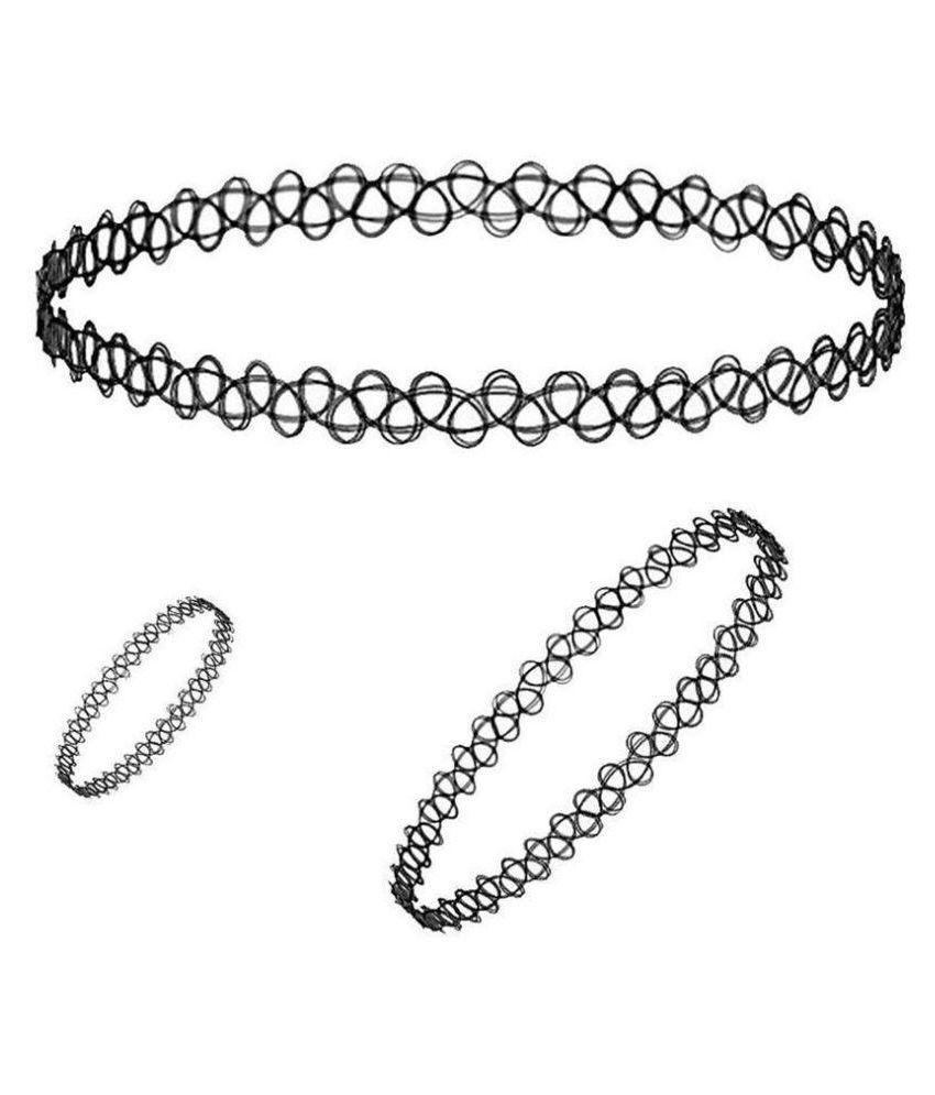 Imported Black Necklace set Combo