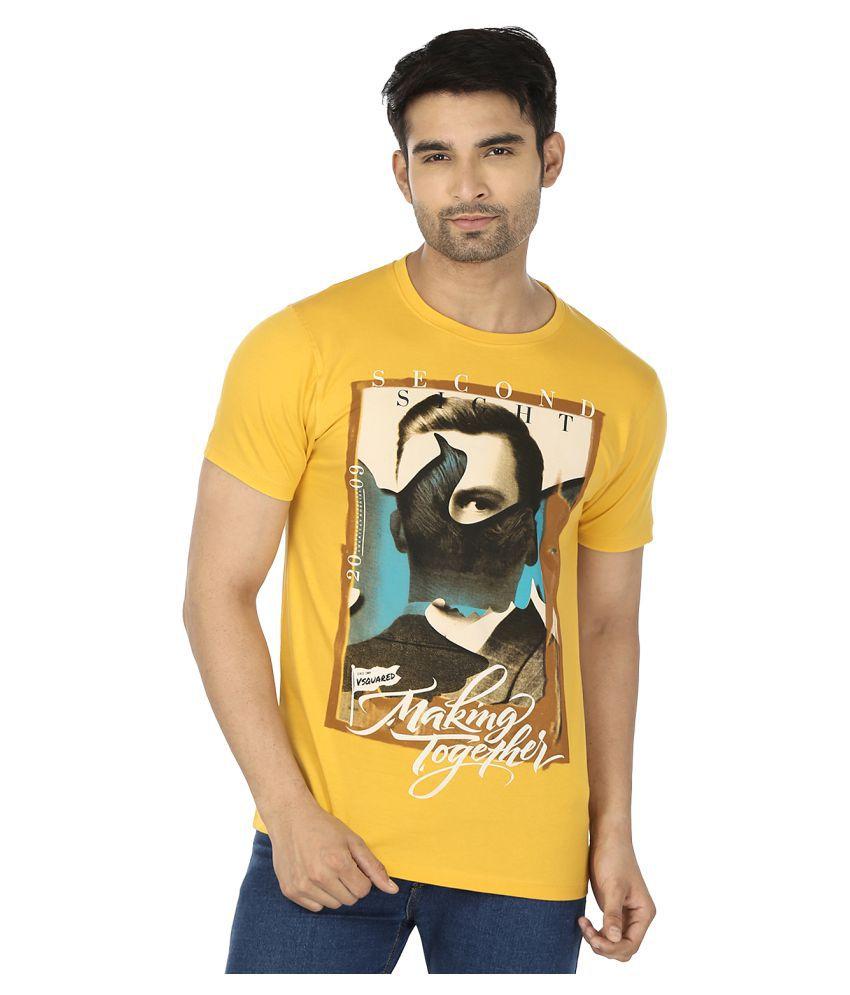 The Lantern Yellow Round T-Shirt