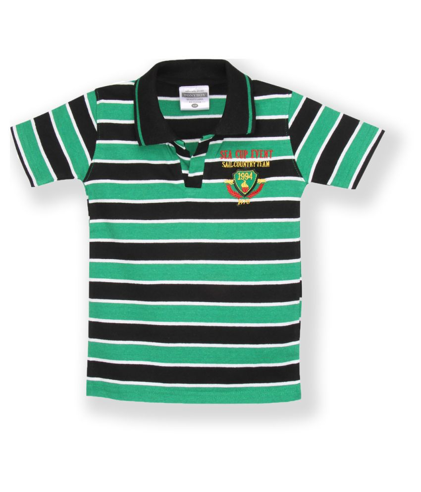503f4d7bc07 Tonyboy multicolour Polo T Shirt available at SnapDeal for Rs.559