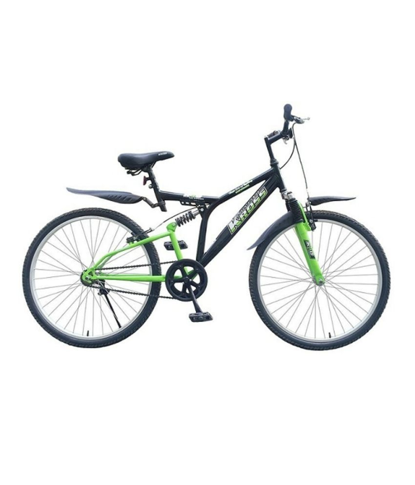 f969c3c63bbe Kross K-40 Without Gears With Double Suspensions 26t Bicycle Adult Bicycle  Man