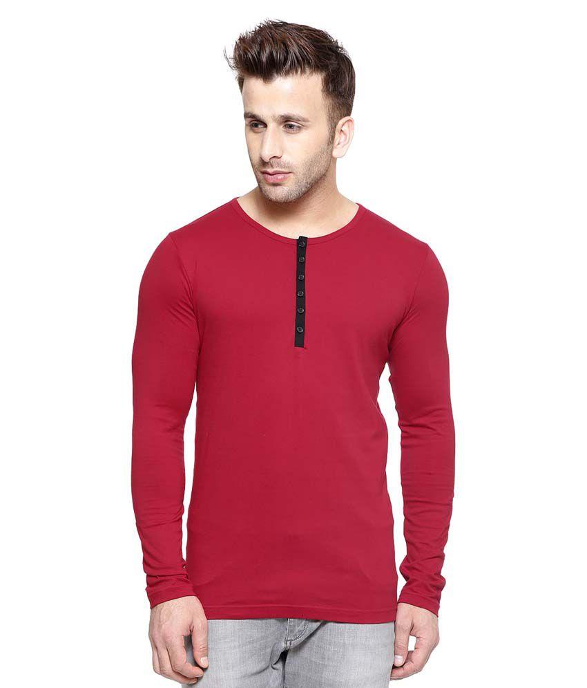 Gespo Red Round T-Shirt