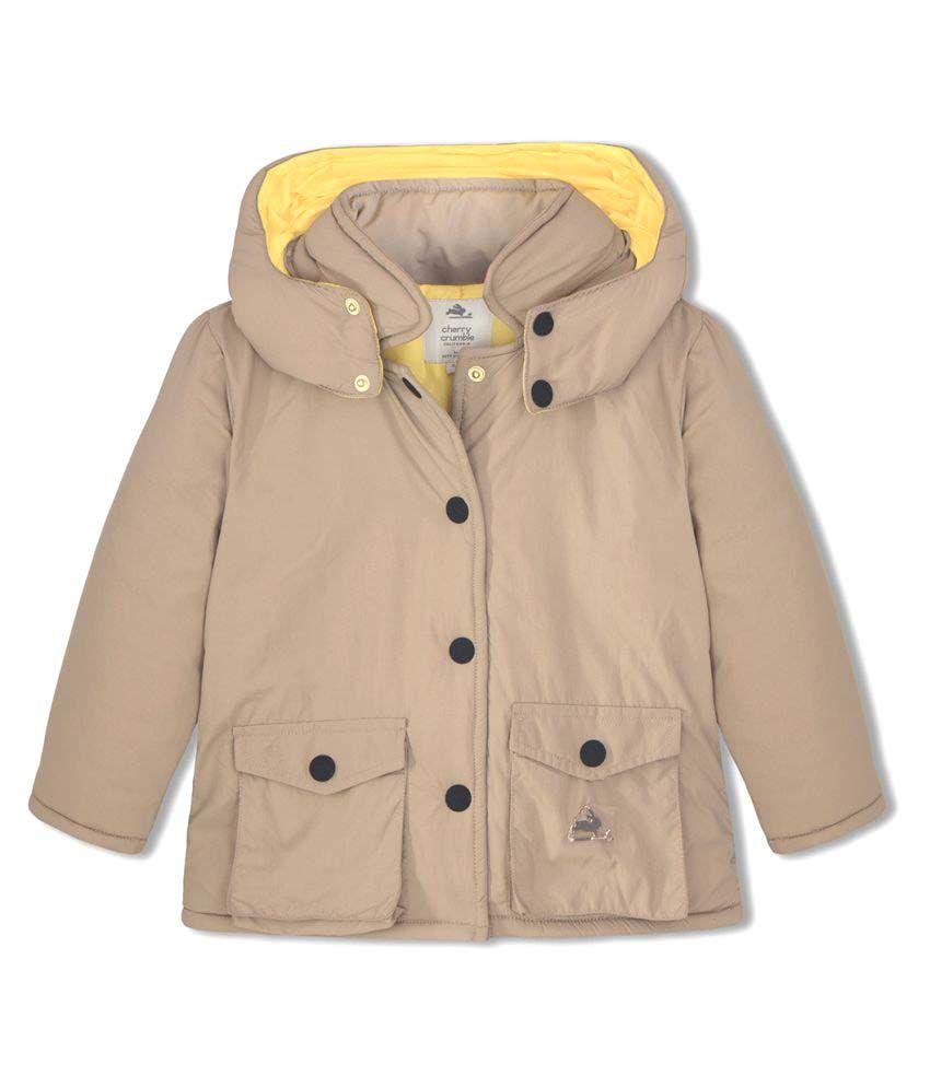 Cherry Crumble Lightweight PUFFER Jacket For Girl